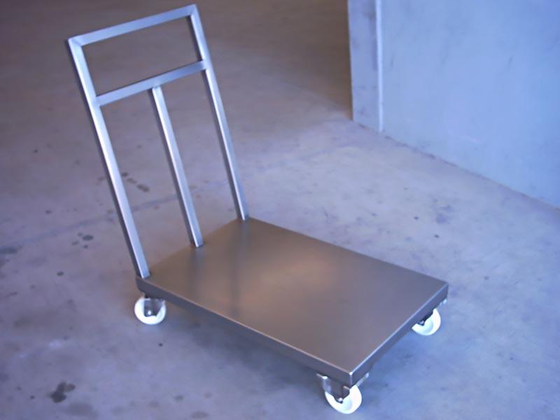 Carro de transporte para cajas